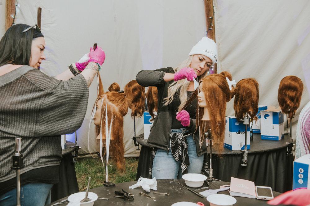 Hair Love Retreat Mannequin Work 3
