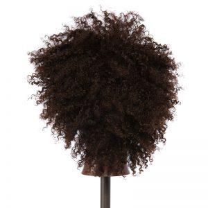 Charlene - 100% Human Textured Hair Snap Cap