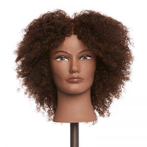 Amber - 100% Human Textured Hair Mannequin