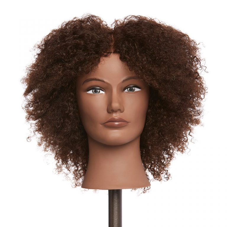 Amber – 100% Human Textured Hair Mannequin