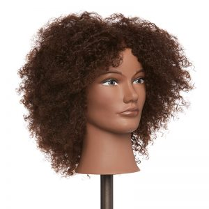 Pivot Point Textured Hair Mannequin Amber