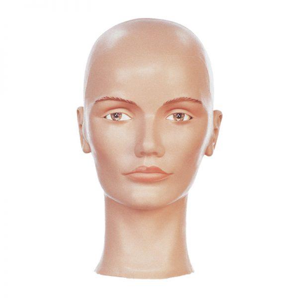 Ladies Multi-Use Headform Plain - Mannequin