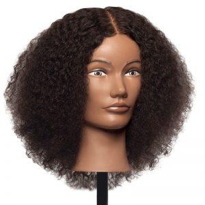 Maya - 100% Human Textured Hair Mannequin