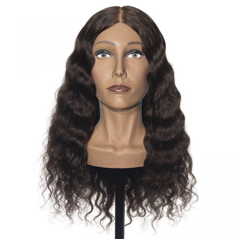Michelle – 100% Human Textured Hair Mannequin