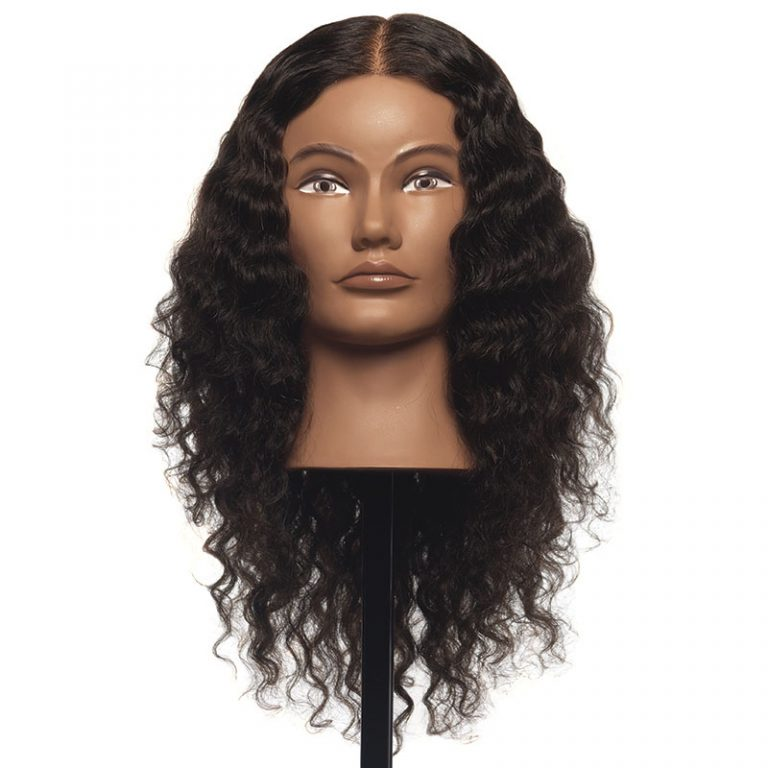 Janet – 100% Human Textured Hair Mannequin
