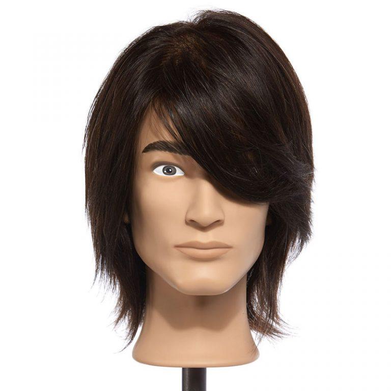 Cole – 100% Human Hair Mannequin