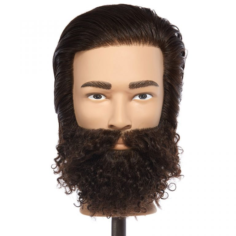 Ian – 100% Human Hair Mannequin