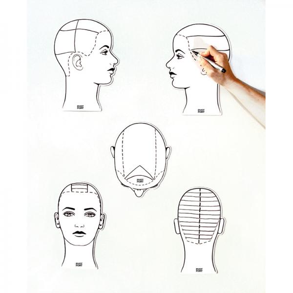 Ladies Sketch Heads