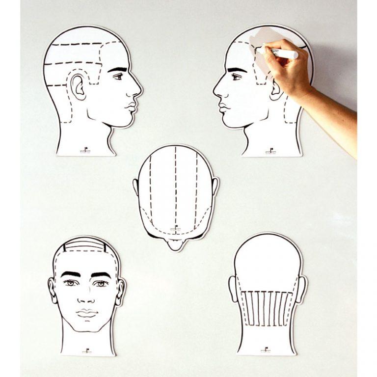Men's Sketch Heads