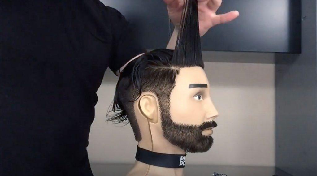 Pivot Point Slip-On Male Hair Mannequin