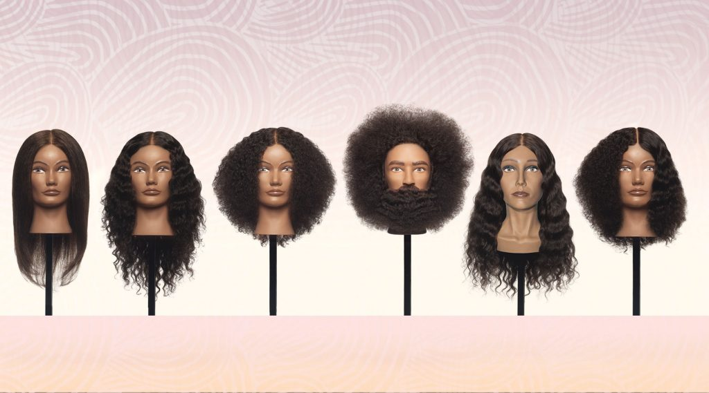 Pivot Point Textured Hair Mannequins