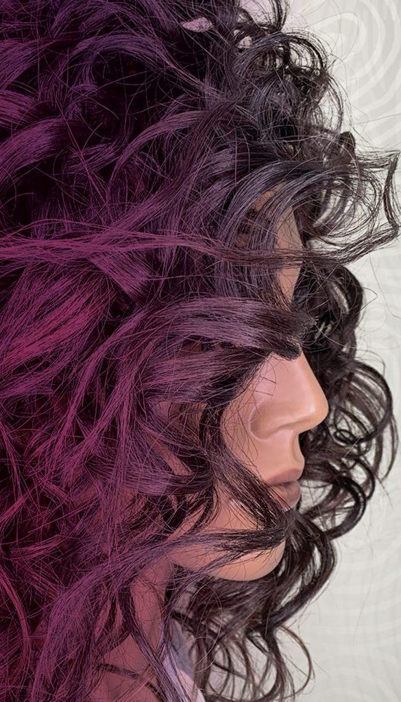 Pivot Point Textured Hair Mannequin Michelle