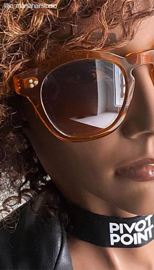 Pivot Point Slip-On Textured Hair Mannequin