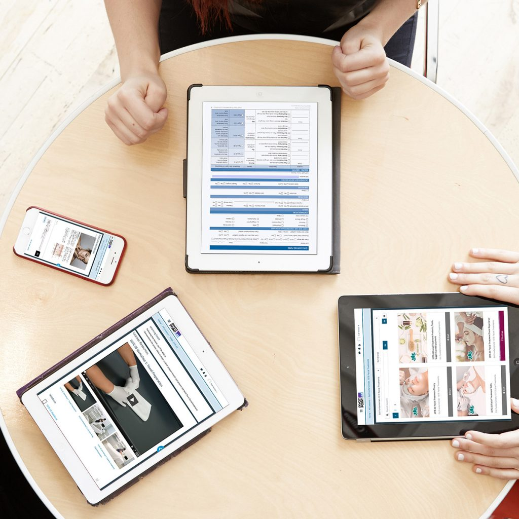 Pivot Point Fundamentals: Esthetics content on tablets and mobile devices