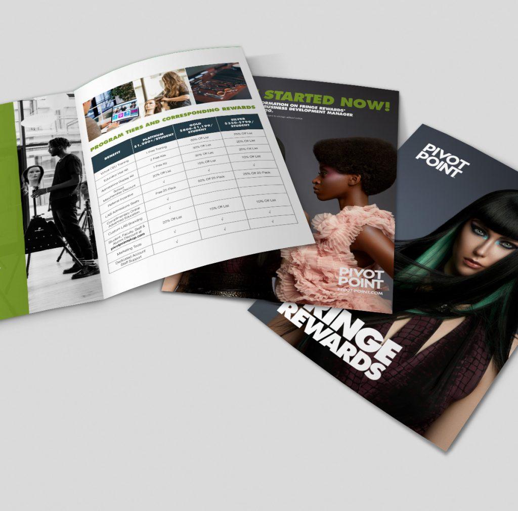 Pivot Point program rewards brochures
