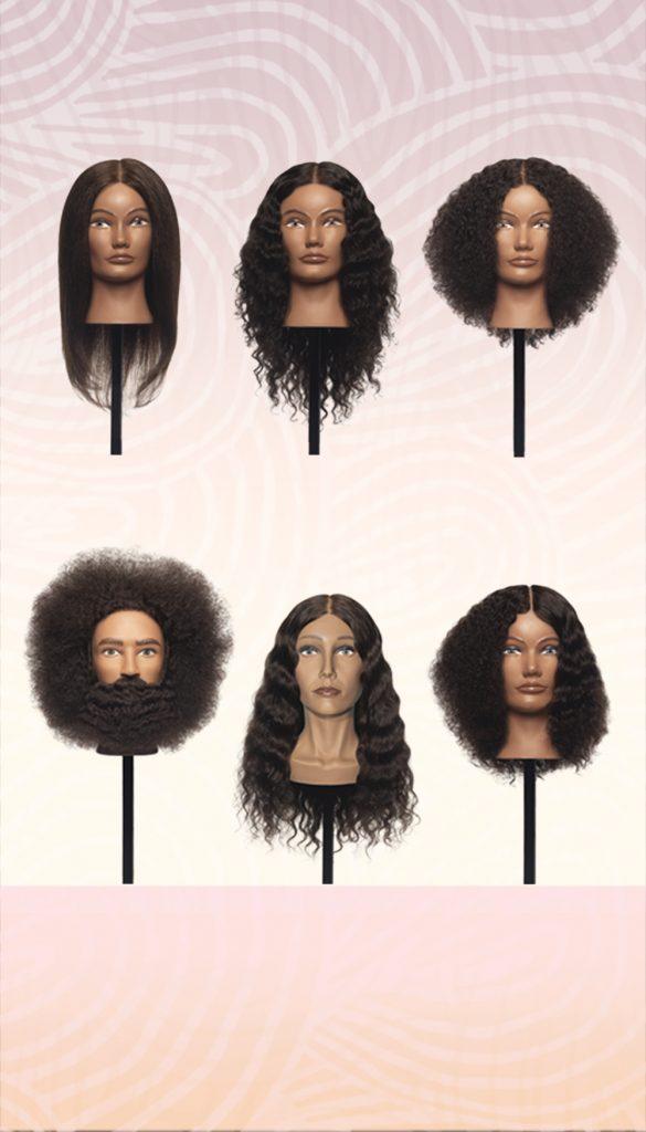 Textured Hair Mannequins